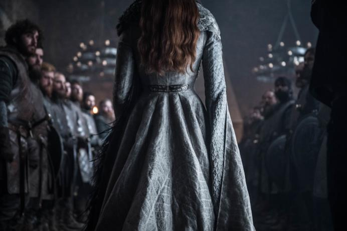 Sansa nell'episodio di GoT 8x06, The Iron Throne