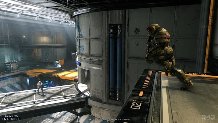 Screen di gioco di Halo Infinite
