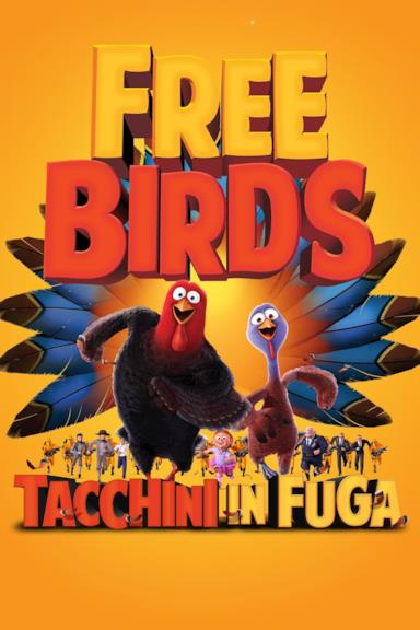 Poster Free birds - Tacchini in fuga