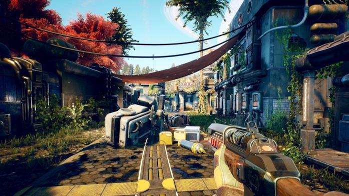 The Outer Worlds in un'immagine di gioco