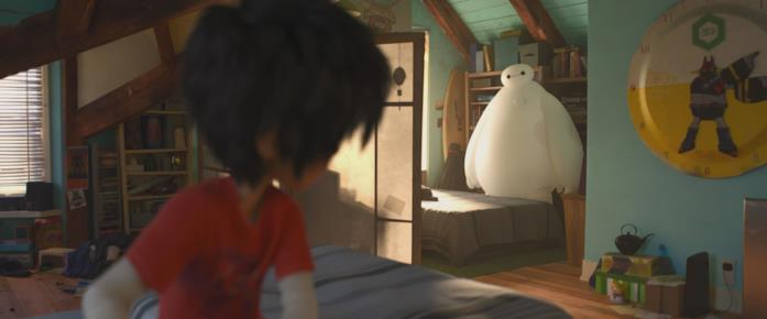 Una scena del film Big Hero 6
