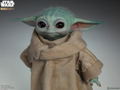 Baby Yoda in scala 1:1 di Sideshow Collectibles