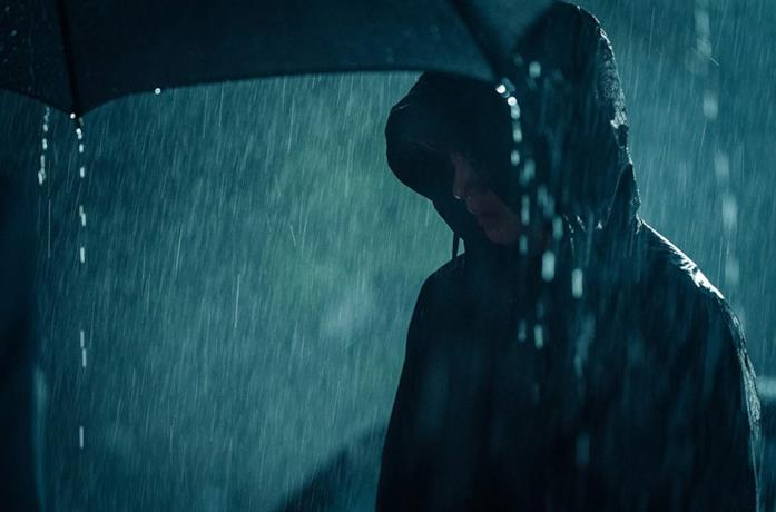 Kim Sungkyu in una scena del film The Gangster, The Cop, The Devil
