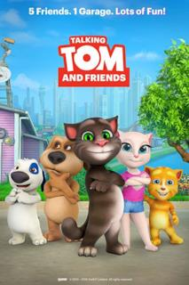 Poster Talking Tom and Friends