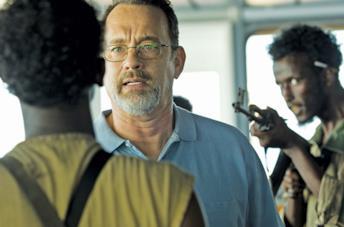Tom Hanks è il capitano Phillips nel film sul sequestro della Maersk Alabama