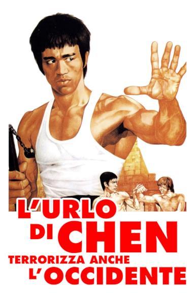 Poster L'Urlo Di Chen Terrorizza Anche L'Occidente