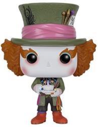 Funko- Wonderland 2010 Pop Vinile Disney Alice Mad Hatter, 6709