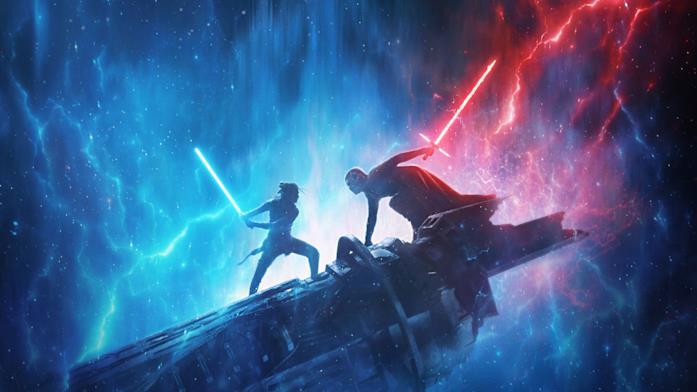 Un'immagine promozionale di Star Wars: L'Ascesa di Skywalker