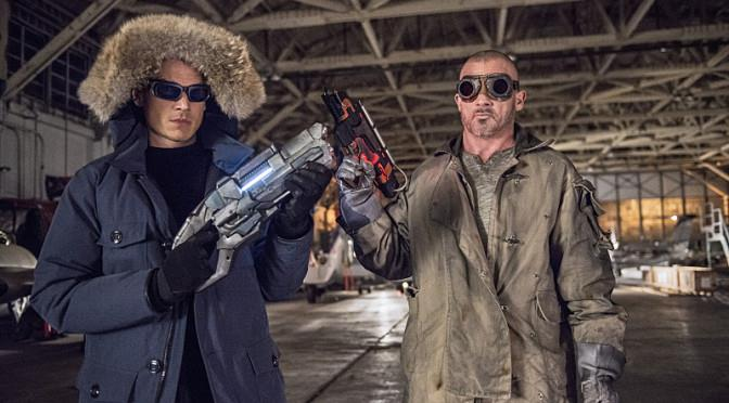 Capitan Cold e Heat Wave in The Flash