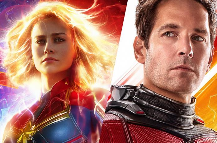 Captain Marvel e Ant-Man nel MCU