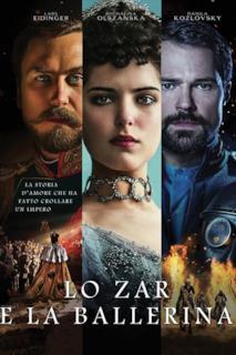 Poster Lo zar e la ballerina
