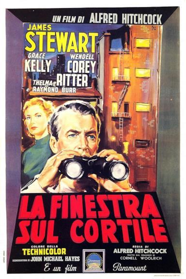 Poster La finestra sul cortile