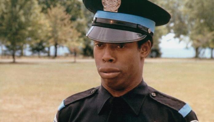 L'attore Winslow in Scuola di Polizia