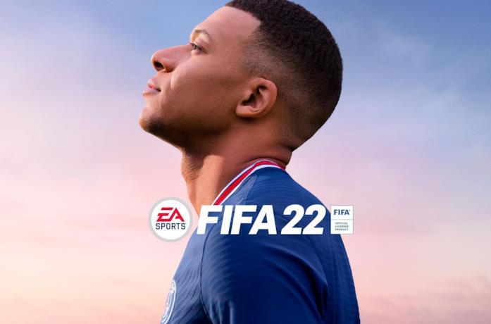 La copertina ufficiale di FIFA 22