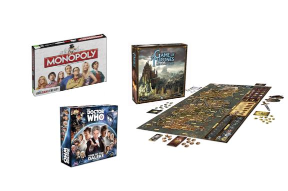 Monopoli The Big Bang Theory, Gioco da tavolo Doctor Who e GOT