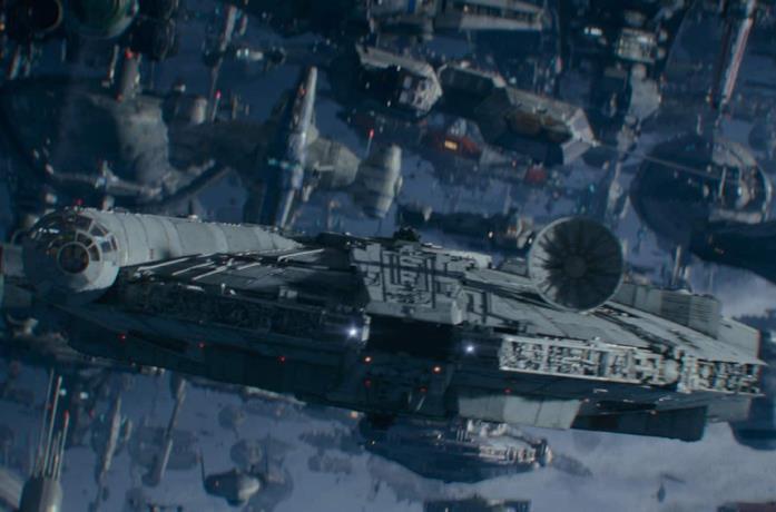 Un'immagine ufficiale del nuovo film di Star Wars