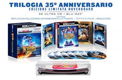 Ritorno Al Futuro: The Ultimate Trilogy - Collection 35° Anniversario Hoverboard Edition (Box Set) (7 Blu Ray)