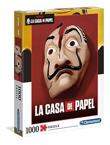 Clementoni - 39533 - Puzzle La Casa Di Carta - 1000 Pezzi - Made In Italy - Puzzle Adulti Netflix