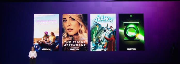 I poster delle nuove serie HBO Max, sulla destra quello di Lanterna Verde