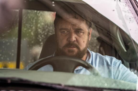 Russell Crowe in una scena di Unhinged