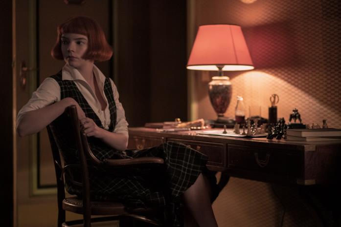 Anya Taylor-Joy come giovane Beth Harmon