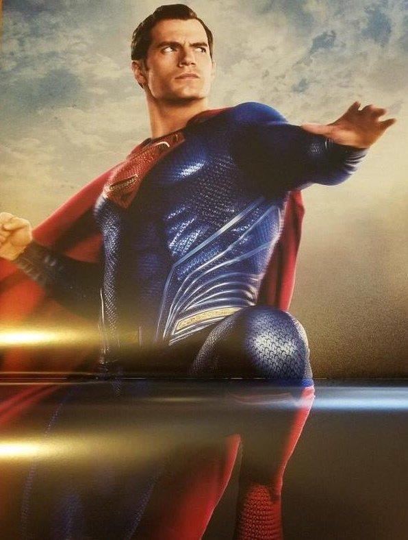 Henry Cavill è Superman in Justice League
