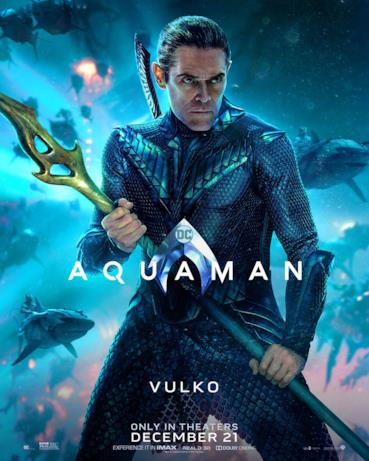 Willem Dafoe è Nuidis Vulko nel film di James Wan