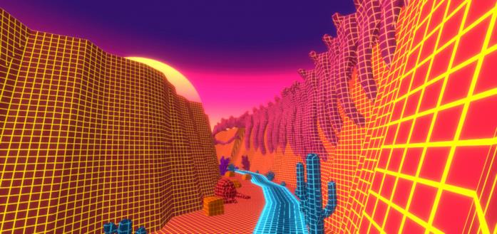 Il videogame indie NeonHat su PlayStation 5