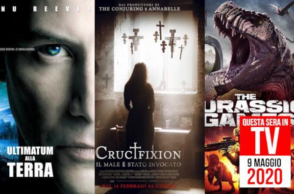 Film in TV stasera: Ultimatum alla terra e Crucifixion in onda il 9 maggio