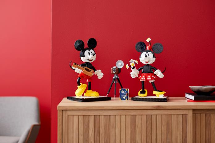 Mickey Mouse & Minnie Mouse LEGO