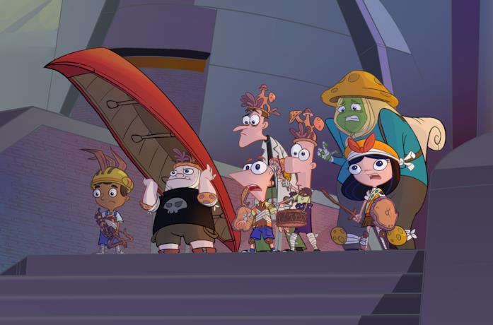 Una immagine da Phineas e Ferb Il Film: Candace contro l'Universo