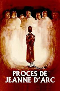 Poster Il processo di Giovanna d'Arco