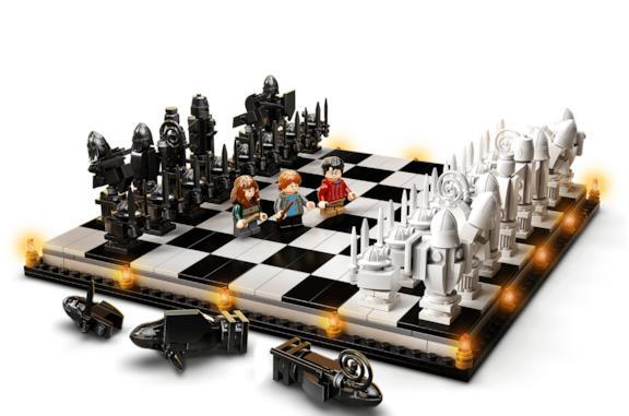 Harry Potter: arrivano i nuovi scacchi LEGO dedicati al mondo di Hogwarts