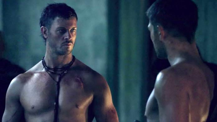 Daniel Feuerriegel in Spartacus