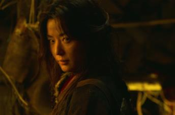 Un primo piano di Gianna Jun nella serie Kingdom
