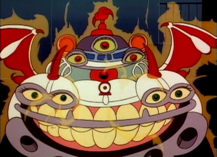 La Ecto-1 posseduta in un episodio di The Real Ghostbusters