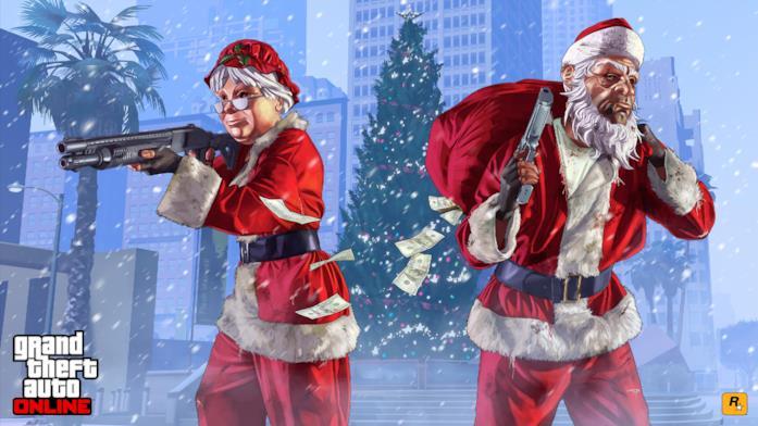 GTA Online festeggia il Natale