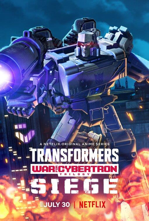 Megatron nel poster di Transformers: War For Cybertron Trilogy - L'assedio
