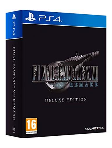 Final Fantasy VII Remake - Deluxe - PlayStation 4