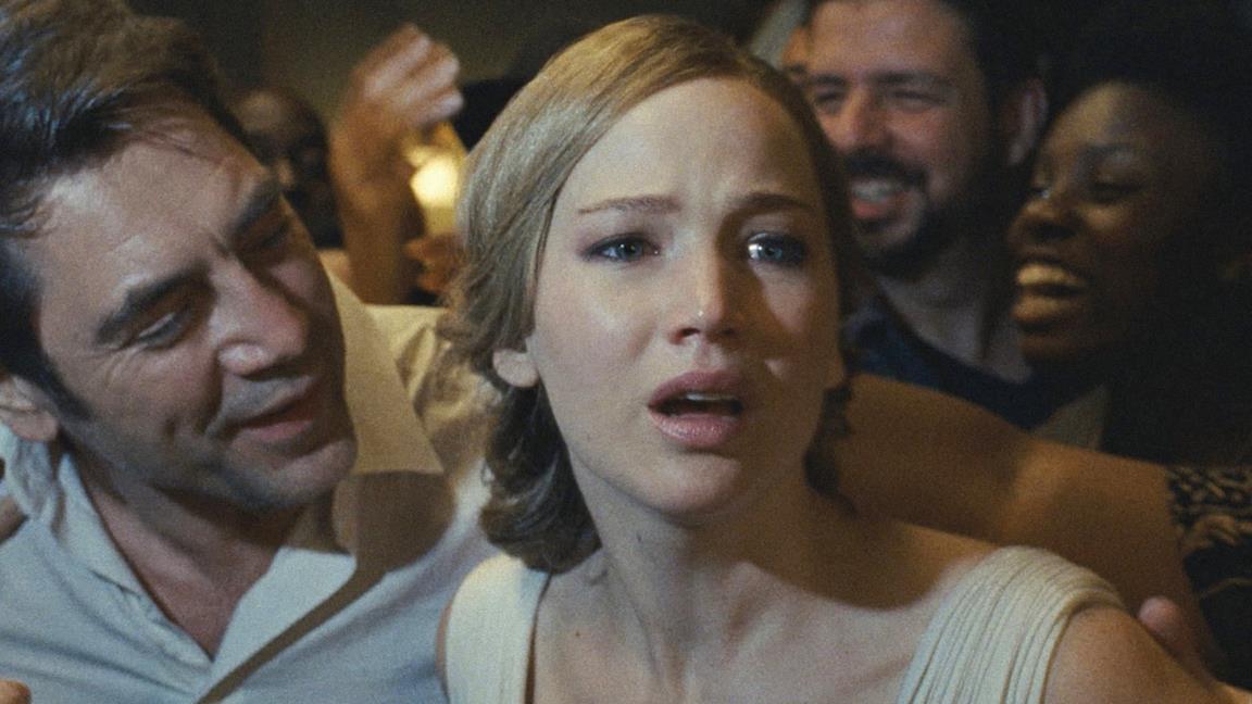 Jennifer Lawrence nel poster di Madre!