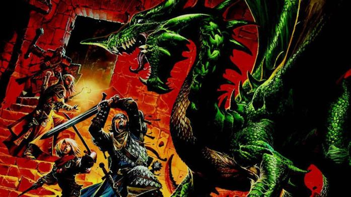 Un artwork di Dungeons & Dragons