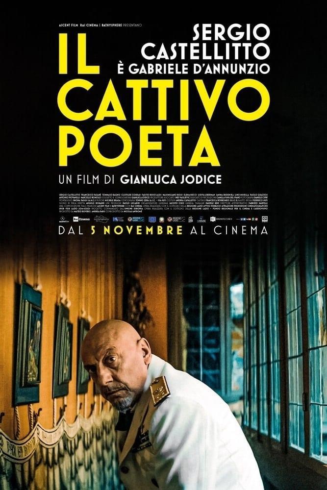 Sergio Castellitto, nei panni di Gabriele D'Annunzio