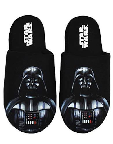 Star Wars Pantofole da Uomo Darth Vader Scarpe da casa in Poliestere Lato OSC