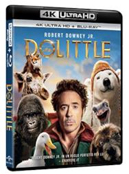 Dolittle - 4K Ultra Hd  (2 Blu Ray)
