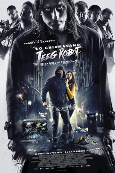 Poster Lo chiamavano Jeeg Robot