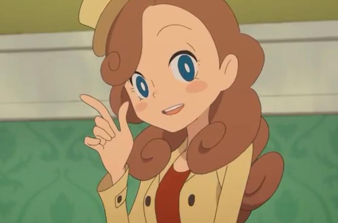 La protagonista del gioco, Kat
