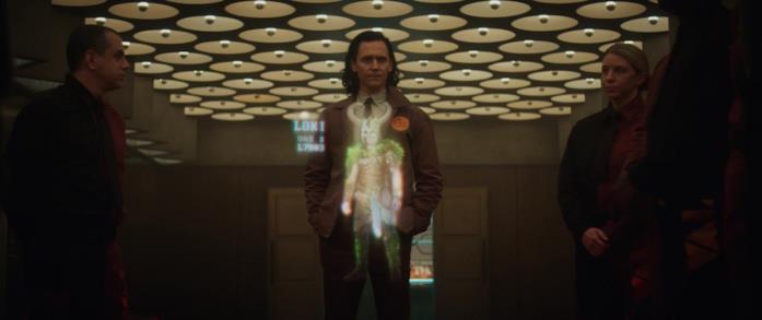 Loki perplesso dalla sua variante vichinga