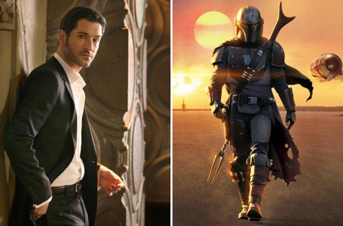 Lucifer e The Mandalorian