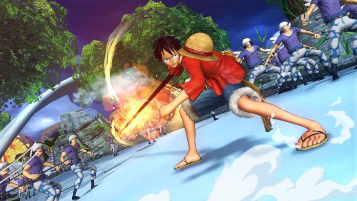 One Piece Rufy videogame