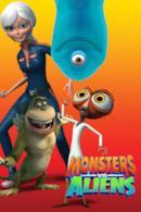 Poster Monsters vs. Aliens